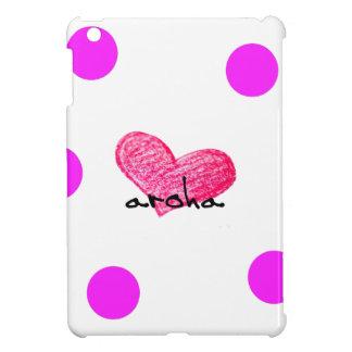 Coques iPad Mini Langue maorie de conception d'amour