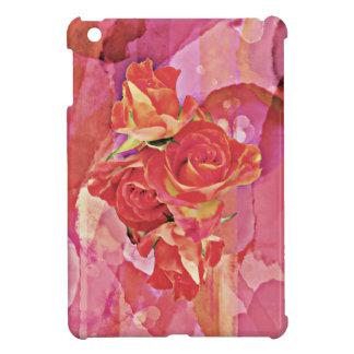 Coques iPad Mini L'aquarelle vibrante riche s'est levée