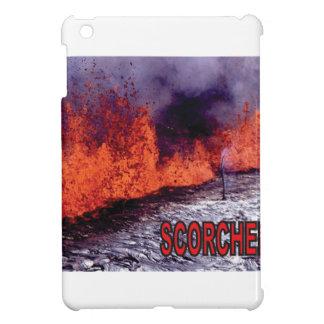 Coques iPad Mini le feu roussi