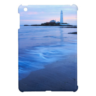 Coques iPad Mini Le phare de Mary de saint à la baie de Whitley