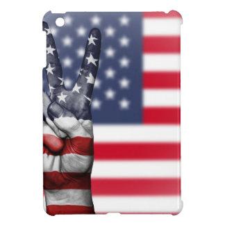 Coques iPad Mini Les Etats-Unis Etats-Unis nous nation de main de