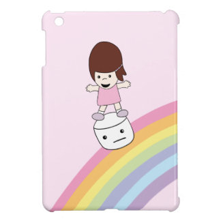 Coques iPad Mini Lesley sur cas d'iPad de guimauve de l'arc-en-ciel