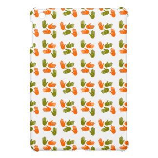 Coques iPad Mini Main Pattern green orange