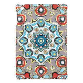 Coques iPad Mini Mandala abstrait de pastels
