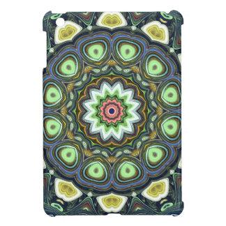 Coques iPad Mini Mandala de chaux de citron