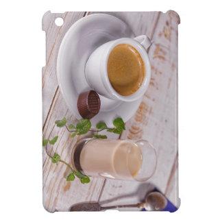 Coques iPad Mini Mini cas d'iPad confortable de café