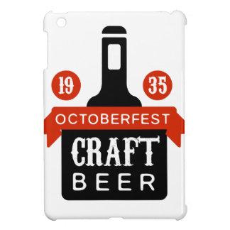 Coques iPad Mini Modèle de conception de logo de bière de métier