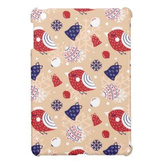 Coques iPad Mini Noël, vacances, décorations d'arbre, motif