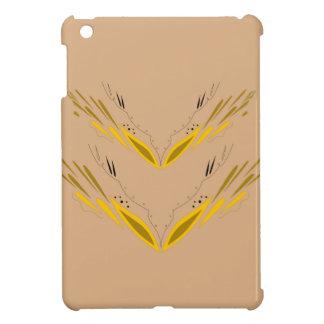 Coques iPad Mini Or de beige d'éléments de conception