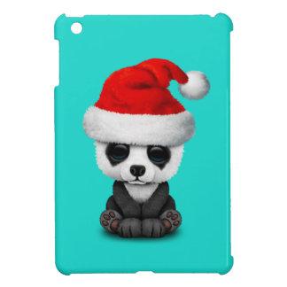 Coques iPad Mini Ours panda de bébé utilisant un casquette de Père