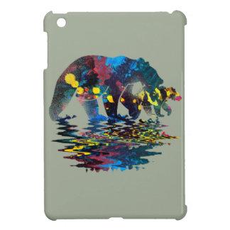 Coques iPad Mini Peinture polychrome d'ours
