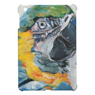 Coques iPad Mini Perroquet bleu