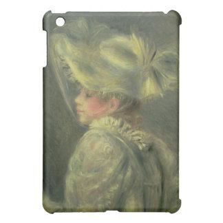 Coques iPad Mini Pierre un Renoir   le casquette blanc