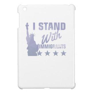 Coques iPad Mini Pro statue d'immigration de chemise de liberté