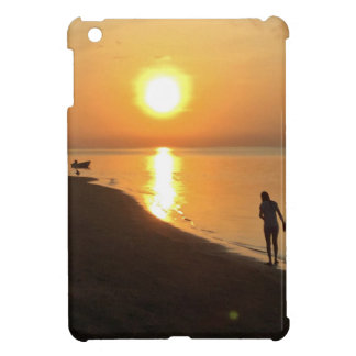 Coques iPad Mini Promenade de matin sur la plage