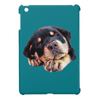 Coques iPad Mini Race allemande canine de chien de Rott d'amour de