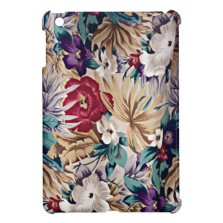 Coques iPad Mini Rétro motif de fleur tropical