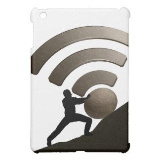 Coques iPad Mini Sisyphus fixant la radio dans l'enfer !