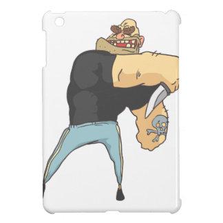 Coques iPad Mini Style de attaque de bandes dessinées décrit par