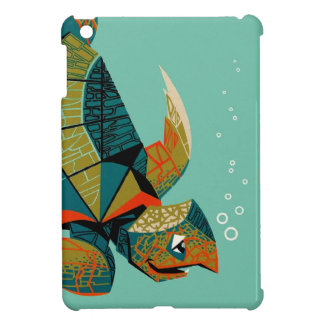 Coques iPad Mini Tortue de mer australienne gaie