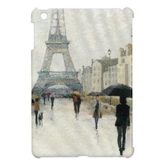 Coques iPad Mini Tour Eiffel   Paris sous la pluie
