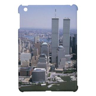 Coques iPad Mini Tours jumelles d'horizon de New York City
