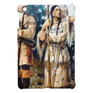 Coques iPad Mini trappeur et femme indienne