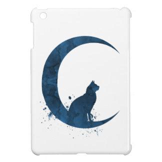 Coques iPad Mini Un chat se reposant sur la lune