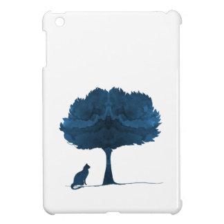 Coques iPad Mini Un chat sous un arbre