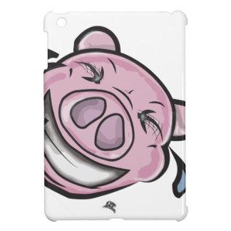Coques iPad Mini visage de lol de porc drôle
