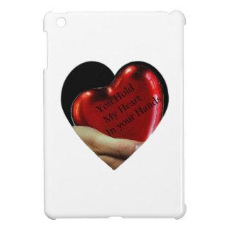 Coques iPad Mini Vous tenez mon coeur dans votre valentine de mains