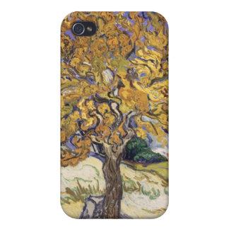 Coques iPhone 4/4S Mûrier de Vincent van Gogh |, 1889