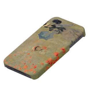 Coques iPhone 4/4S Pavots sauvages de Claude Monet |, près