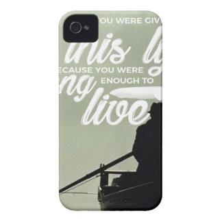Coques iPhone 4 Assez fort pour vivre cette vie