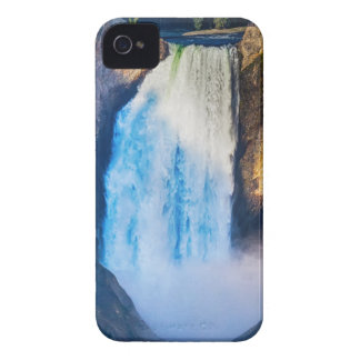 Coques iPhone 4 Automnes supérieurs de Yellowstone