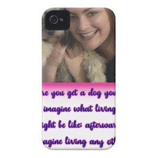 Coques iPhone 4 Avant que vous obteniez un chien