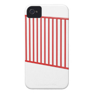 Coques iPhone 4 Barrière mobile rouge
