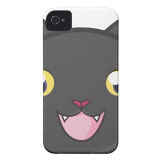 Coques iPhone 4 beau heureux de bébé de chat de joie animale