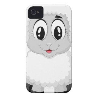 Coques iPhone 4 beau heureux de bébé de joie animale mignonne