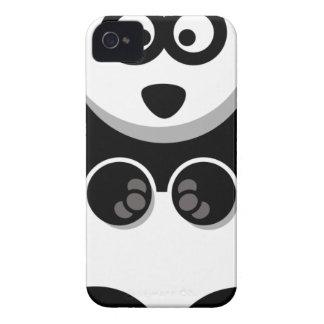 Coques iPhone 4 beau heureux de bébé de panda de joie animale