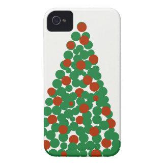 Coques iPhone 4 Boules d'arbre de Noël