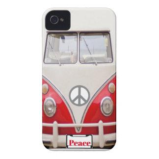 Coques iPhone 4 cas de l'iPhone 4 (d'autobus de paix)