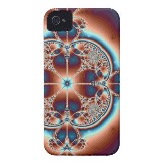 Coques iPhone 4 Case-Mate 7 cas psychédélique de l'iPhone 4 de ~ de coeurs