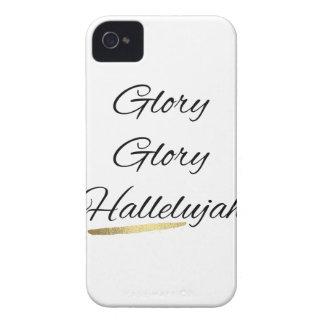 Coques iPhone 4 Case-Mate Alléluia de gloire de gloire