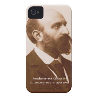 Coques iPhone 4 Case-Mate Amedee-Ernest Chausson