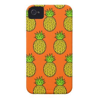 Coques iPhone 4 Case-Mate Ananas oranges tropicaux