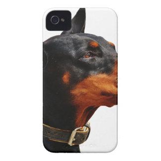 Coques iPhone 4 Case-Mate Animal de compagnie de chien de dobermann