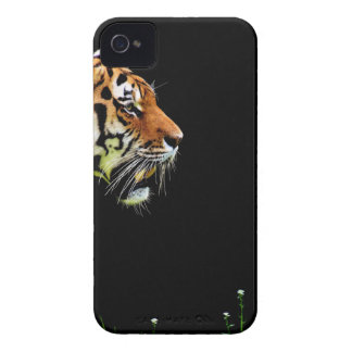 Coques iPhone 4 Case-Mate Approche de tigre - illustration d'animal sauvage