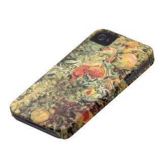 Coques iPhone 4 Case-Mate Art vintage de jardin, grenades II par Sargent