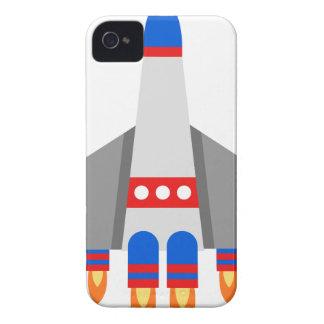Coques iPhone 4 Case-Mate Bande dessinée de vaisseau spatial
